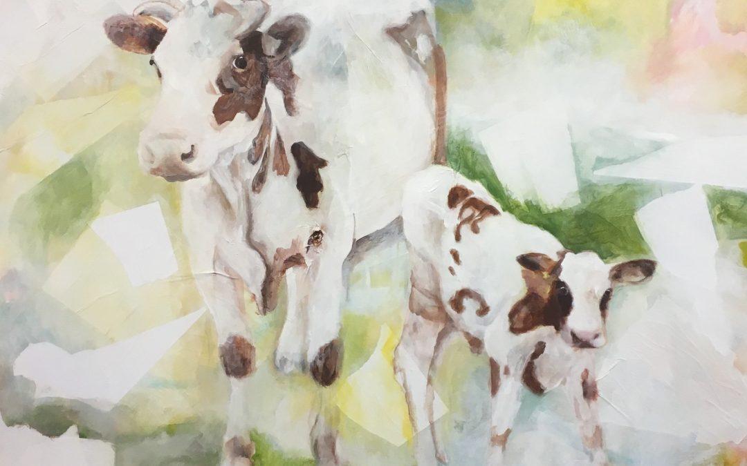 Mijn grootste schilderij: